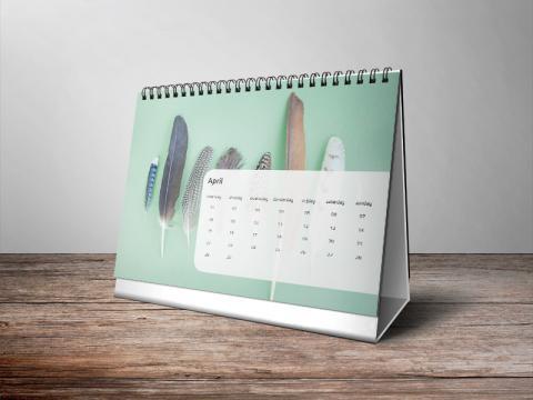Staande kalender A5